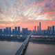 aerial view of the beautiful changsha in sunrise - PhotoDune Item for Sale