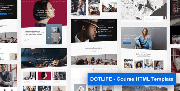 DotLife | Course HTML Template