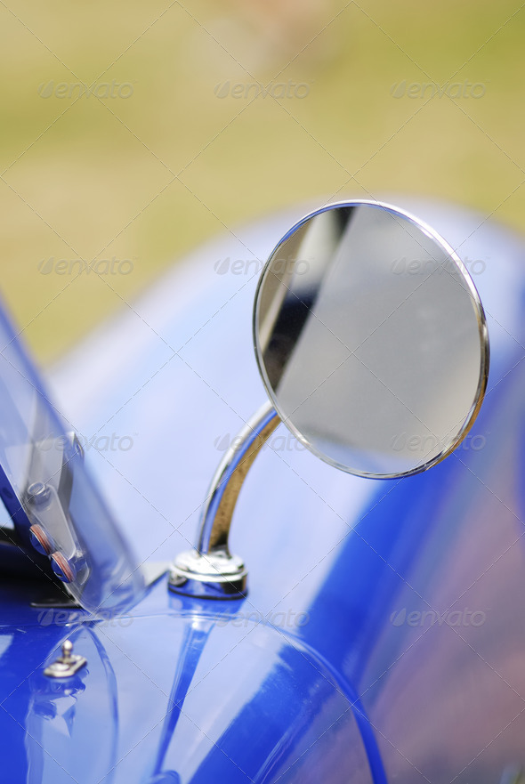 Outside Rear Mirror - Stock Photo - Images