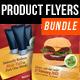 Product Promotion Flyers Bundle - GraphicRiver Item for Sale