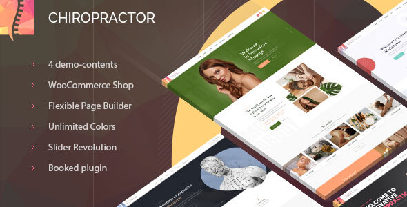 Excellent Chiropractor - Therapy and Rehabilitation WordPess Theme