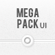 Mega Pack UI - GraphicRiver Item for Sale