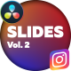 Instagram Stories - DaVinci Resolve Vol.2 - VideoHive Item for Sale