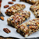 Pecan Raisin Almond Granola Bars - PhotoDune Item for Sale