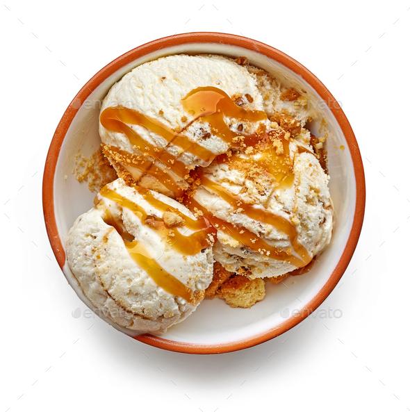 bowl of ice cream - Stock Photo - Images