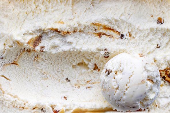 ice cream scoop - Stock Photo - Images