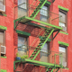 Green fire escape in New York CIty. - PhotoDune Item for Sale