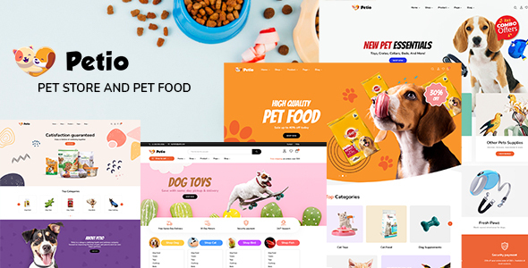 Download Petio – Pet Store WooCommerce WordPress Theme Free Nulled