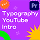 Typography YouTube Intro 3 in 1 - VideoHive Item for Sale