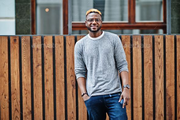 Fashionable black guy - Stock Photo - Images