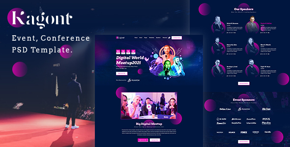 Kagont-Event PSD Template.