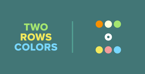Two Rows Colors | HTML5 | CONSTRUCT 3