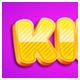 Kids 3d Editable Photoshop Text Effect