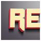 3D Retro Photoshop Text Effect