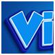 Vintage Blue Color Text Effect