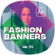 Duotone Instagram Fashion Banners / Fashion Stories - VideoHive Item for Sale