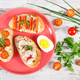 Sandwiches and baguette with mackerel or tuna fish paste - PhotoDune Item for Sale