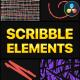 Scribble Elements | DaVinci Resolve - VideoHive Item for Sale