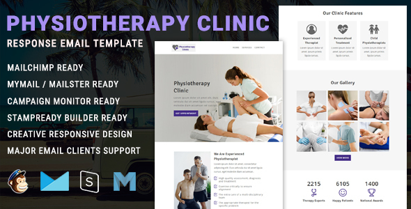 Physiotherapy - Responsive Email Newsletter Template