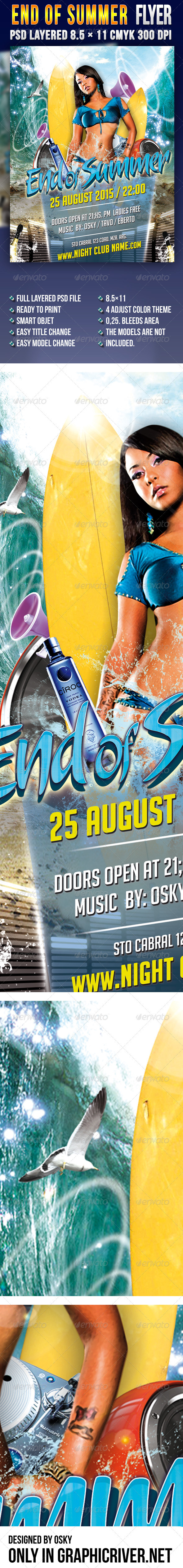 End Of Summer - Clubs & Parties Events