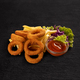 Onion rings and french fries - PhotoDune Item for Sale