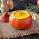 Pumpkin soup served in hokkaido pumpkin - PhotoDune Item for Sale