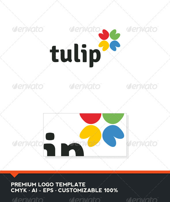 Tulip Logo Template - Abstract Logo Templates