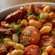 Beans stew with pork sausages - PhotoDune Item for Sale