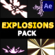 Cartoon Explosions Pack | After Effects - VideoHive Item for Sale