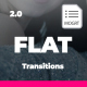Simple Flat Transitions I MOGRT - VideoHive Item for Sale