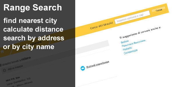 Range Search by location - CodeCanyon Item for Sale
