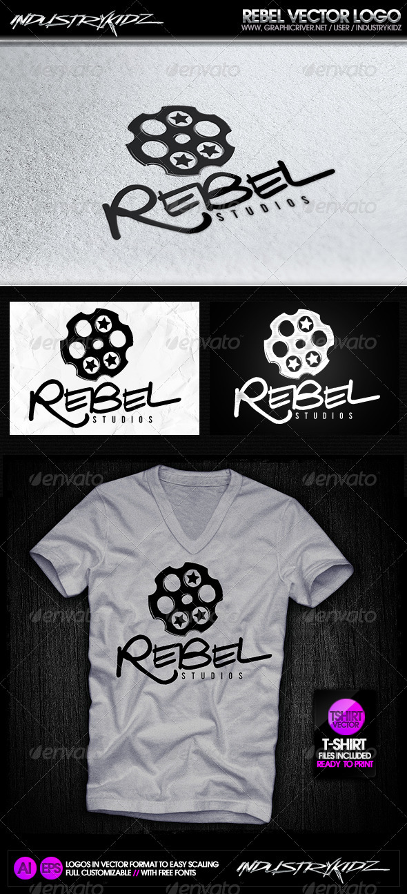 Rebel Logo - Symbols Logo Templates