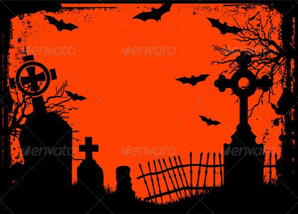 Halloween cemetery - Halloween Seasons/Holidays