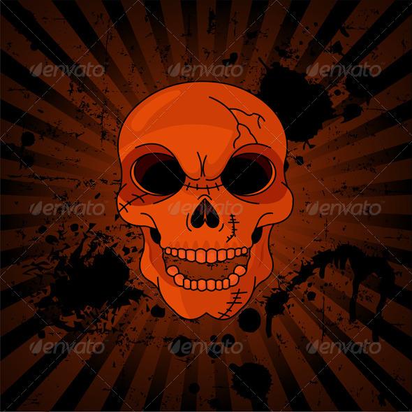 Evil Skull - Halloween Seasons/Holidays