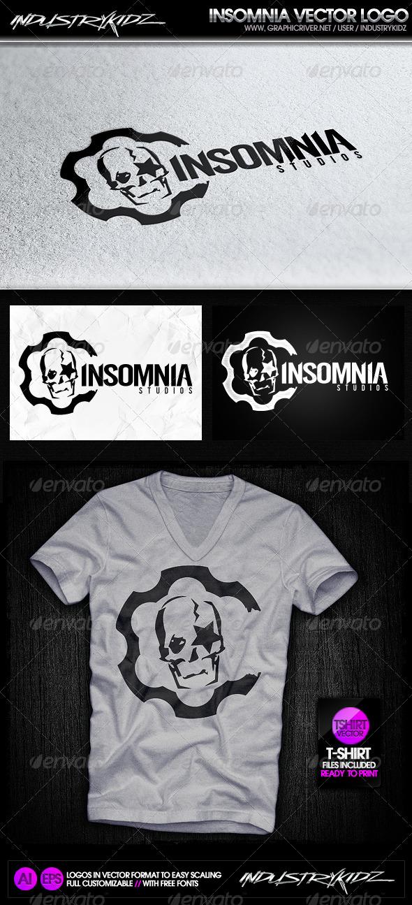 Insomnia Studios Logo - Symbols Logo Templates
