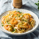 Homemade Shrimp Fettuccine Alfredo Pasta - PhotoDune Item for Sale