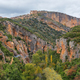 Vero river canyon from the lookout point, Alquezar, Spain - PhotoDune Item for Sale