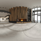 360 panorana of empty modern interior room 3D rendering - PhotoDune Item for Sale