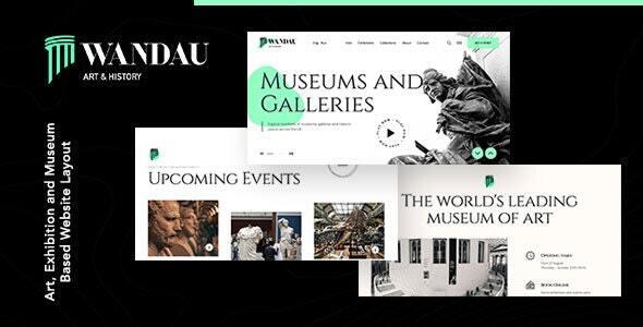 Wandau | Art & History Museum Joomla Template
