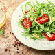 Vegetable salad with sun-dried tomato and arugula - PhotoDune Item for Sale