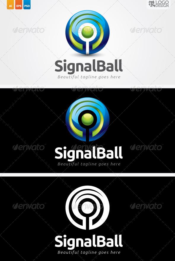 Signal Ball - 3d Abstract