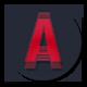 Clean Sting Logo Revealing
