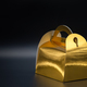 Golden box on black background - PhotoDune Item for Sale