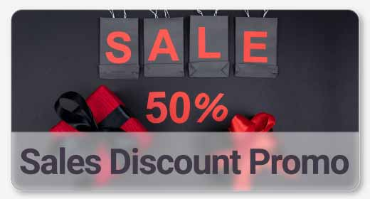 Sales Discount or New Arrival Promo