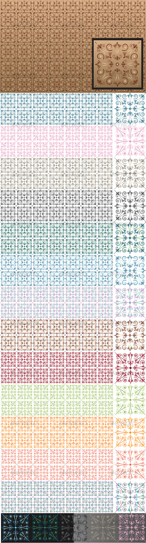 Vector Pattern  - Patterns Decorative