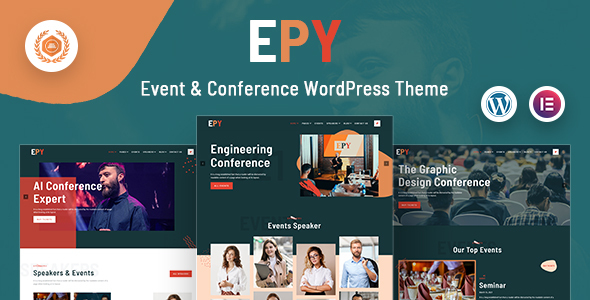 Epy | Event Conference WordPress Theme