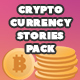 Cryptocurrency Stories Pack - VideoHive Item for Sale