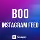 BOO Instagram Feed