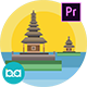 Indonesia Cities Animation | Premiere Pro MOGRT - VideoHive Item for Sale
