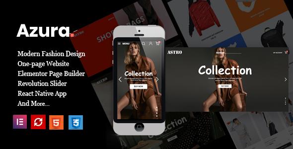 Azura - Fashion Store Prestashop Theme 1.7.7.x